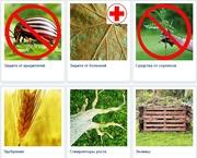 Товары для сада и огорода. Удобрения,  защита от вредителей